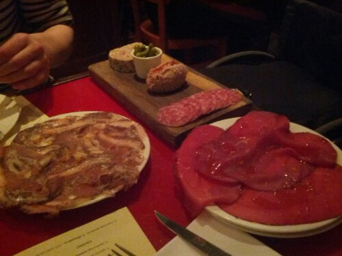 Charcuterie at Terroirs