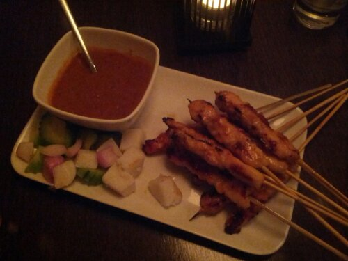 Chicken Satay at Satay House