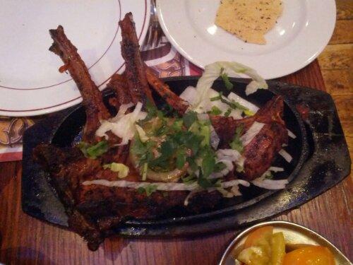 Lamb Chops at Tayyabs