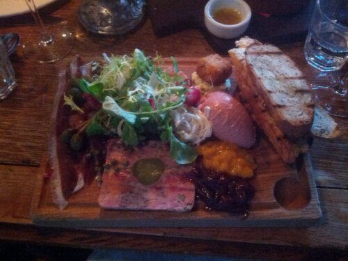 Charcuterie at The Bull and Last